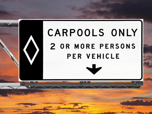 Carpool Lane Violations in Las Vegas Nevada